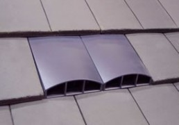 Venduct_Twin_Plain_Profile-Line_Tile_Vent_installed