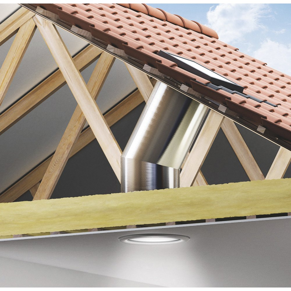 Velux Flat Roof Sun Tunnel Casey S Roofing